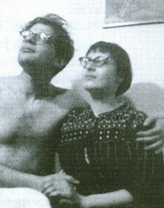 Allen Ginsberg and Elise Cowen