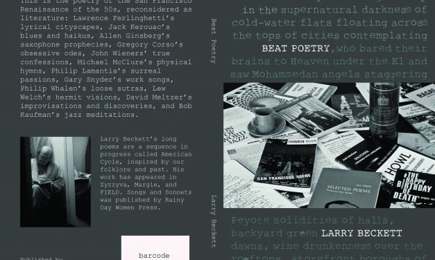 Announcing the Release of Beat Poetry by Larry Beckett