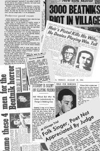 Beat Generation Newspaper Clipps