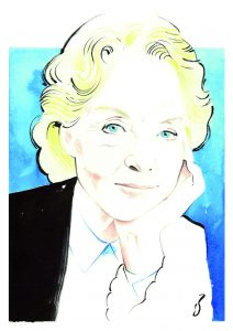 Carolyn Cassady portrait