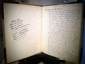 kerouac notebook