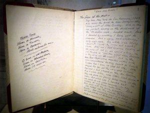 kerouac notebook