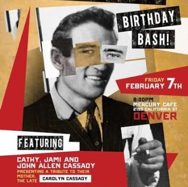 Neal Cassady Birthday Bash