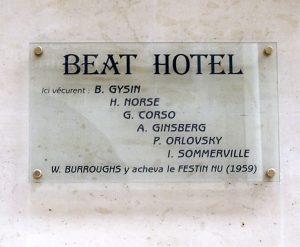 Beat hotel plaque