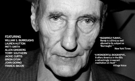 Remastered BURROUGHS: THE MOVIE film trailer