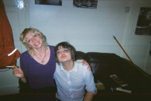 Nina and Peter Doherty