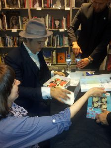 Pete Doherty Waterstones Signing
