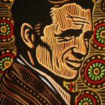 Kerouac woodcut