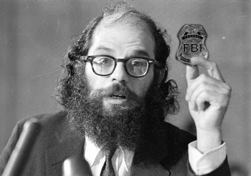 Allen Ginsberg and the FBI (and Secret Service)