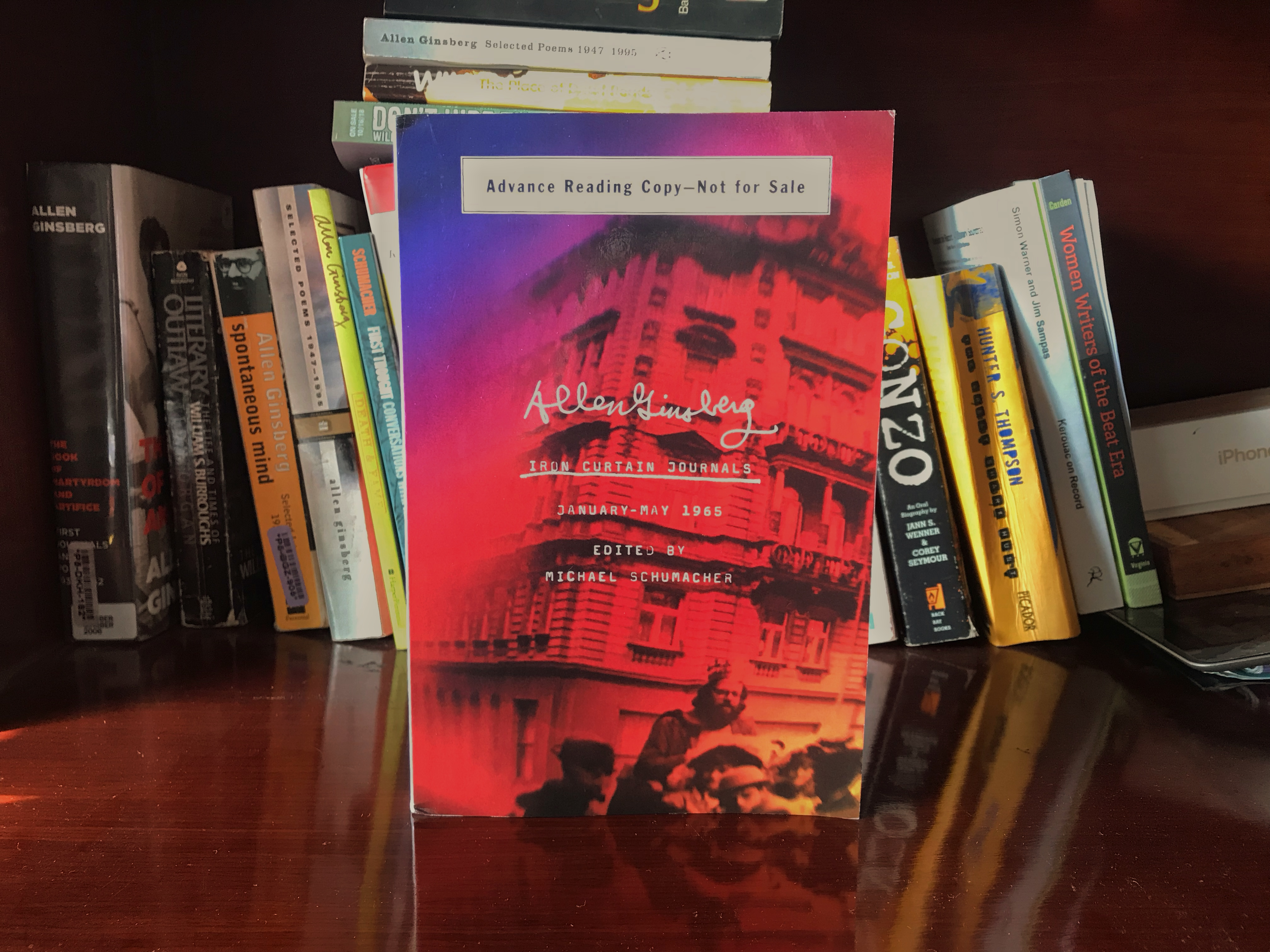 Ginsberg Goes Behind Enemy Lines: A Review of Iron Curtain Journals