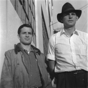 Al Hinkle and Jack Kerouac, Spring 1952