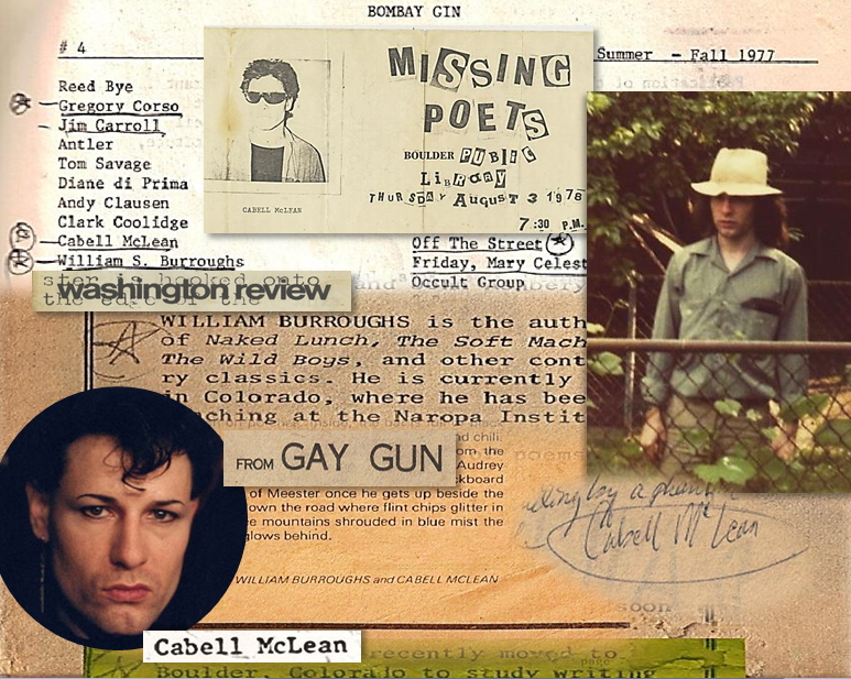 Missing Poets: Looking for Cabell McLean