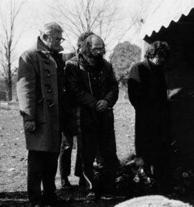 John Clellon Holmes at Kerouac's Funeral