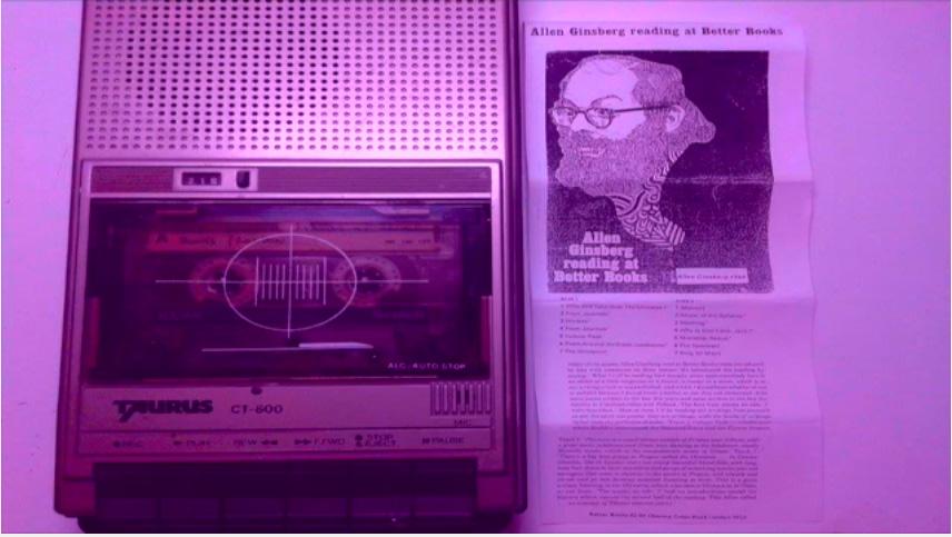 New Allen Ginsberg Readings on YouTube