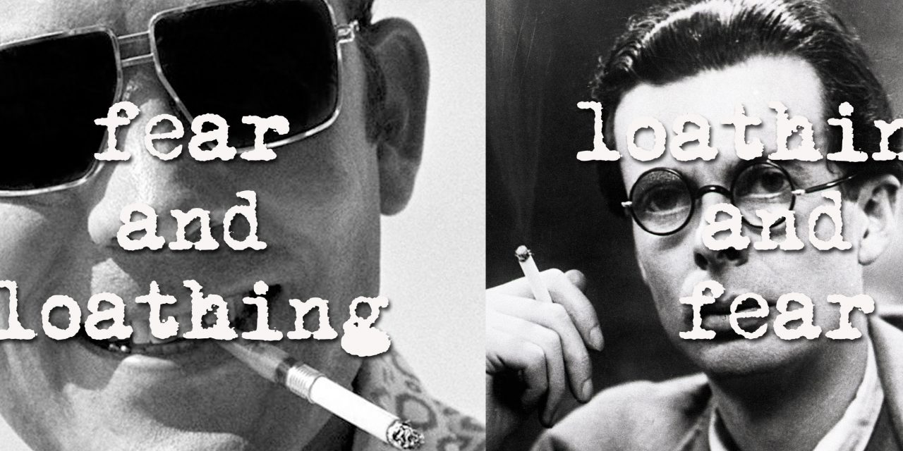 Aldous Huxley and Hunter S. Thompson: From Loathing and Fear to Fear and Loathing