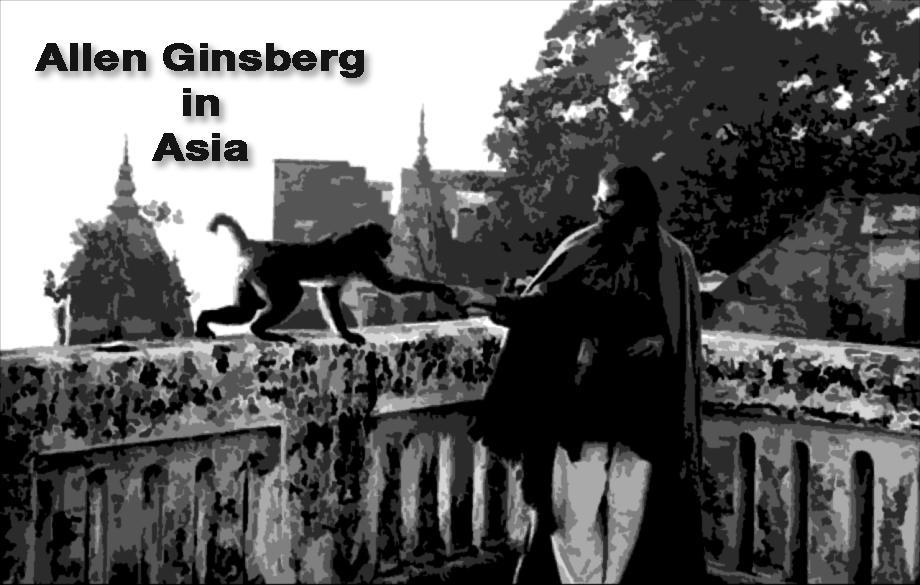 Allen Ginsberg in Asia