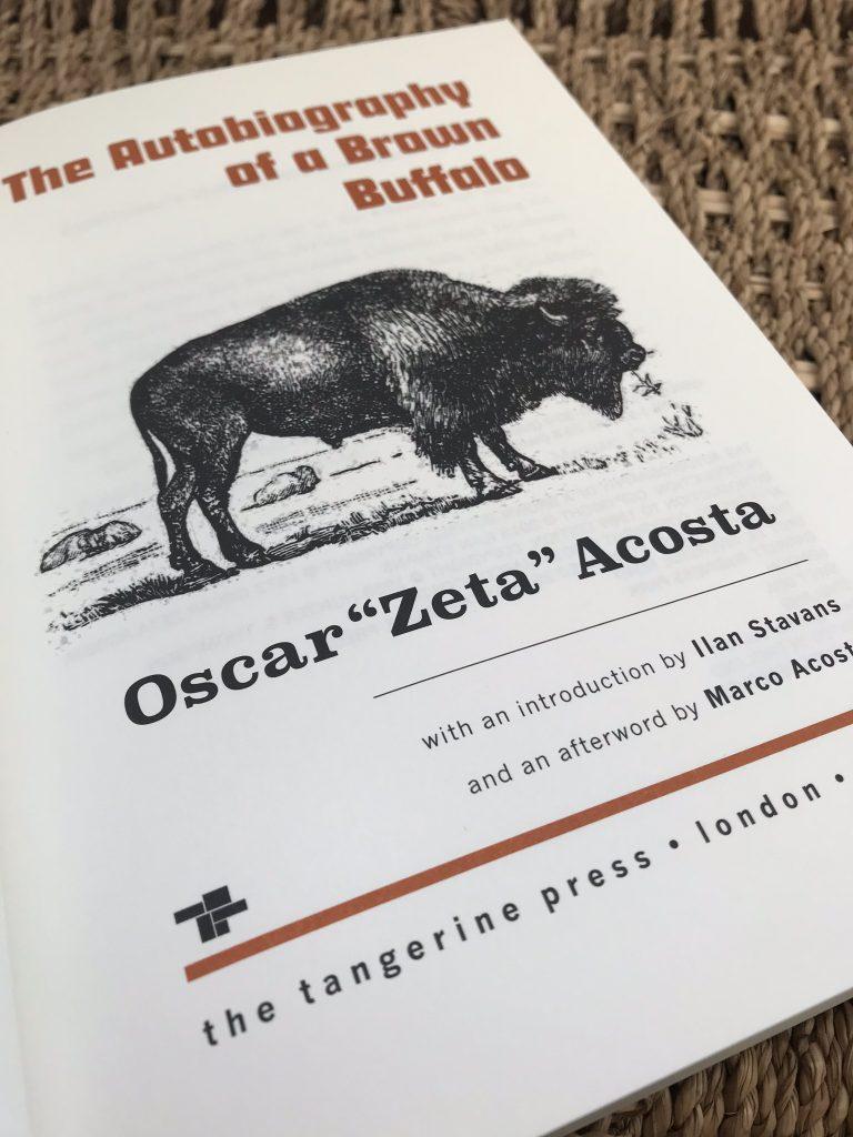 Oscar Zeta Acosta book