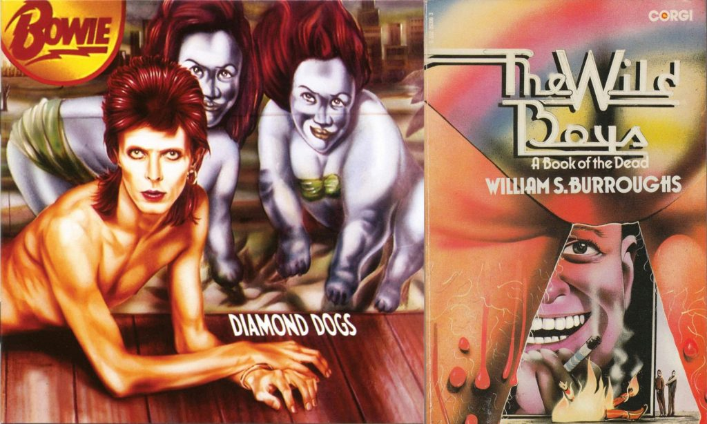 david bowie and william burroughs covers