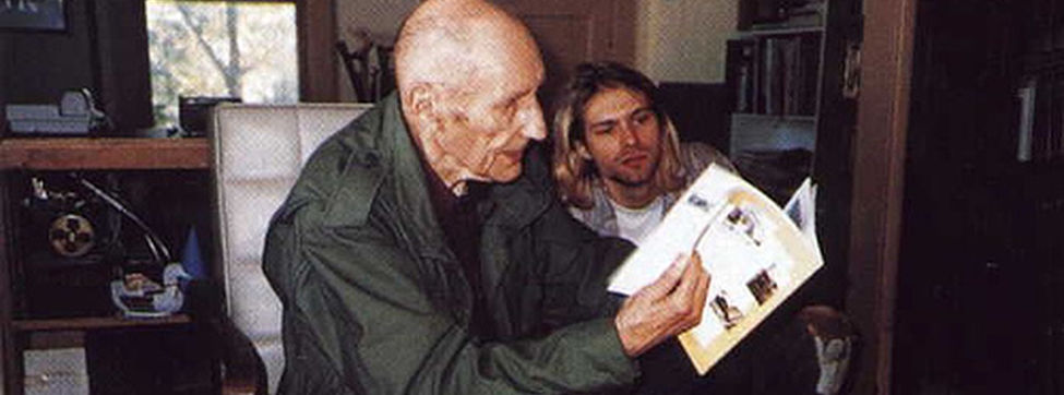 william burroughs and kurt cobain