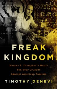 book cover for freak kingdom