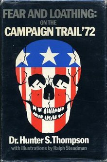 fear and loathing on the campaign trail 72 book cover, Freak Kingdom