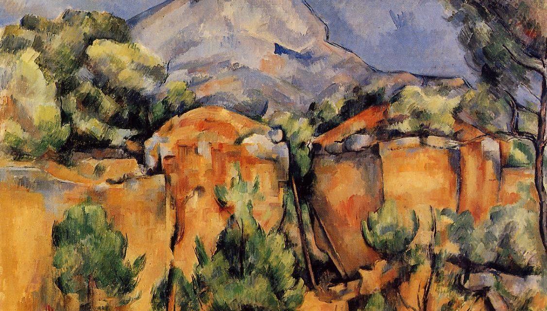 Virgules / After Cézanne