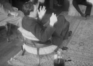 R.D. Laing, sitting